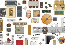 Furniture Clipart Floor Plan - Pencil And In Color Furniture ...
