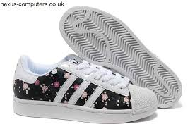 adidas shoes superstar colors. adidas superstar 2 flower colorful black white trainers shoes suitable for womens colors