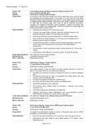 Performance Test Engineer Sample Resume Techtrontechnologies Com