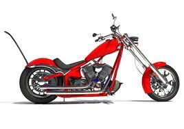 3d custom chopper bike cgtrader