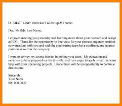 Follow Up Email After Interview Examples Second Follow Up Email