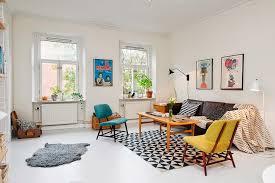 scandinavian retro furniture. Scandinavian-furniture-vintage-chic Lounge-carpet-black-white-grounds Scandinavian Retro Furniture