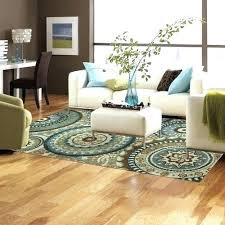 blue brown rug amazing design rugs for living room unusual ideas new modern medallion area zella