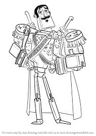 learn how to draw joaquin mondragon from the book of life the book of life step by step drawing tutorials