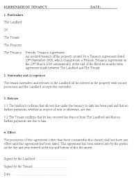 Rent Notice Letter Sample End Of Tenancy Agreement Letter From Landlord Template Landlord