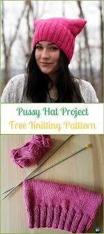 Kitty Hat Knitting Pattern