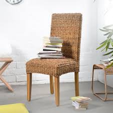 indoor wicker dining chairs image