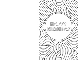 Free Printable Black And White Birthday Cards Invitation