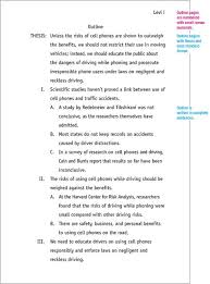 outline sample co  5 page research paper outline commercial paper rates and outline sample