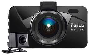 <b>Видеорегистратор Fujida Zoom</b> City, 2 камеры — купить по ...