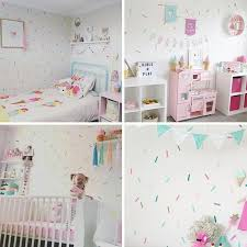 baby girl room sprinkles wall stickers