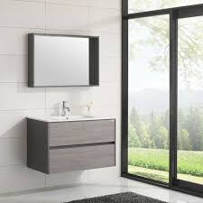 wall mount bathroom vanity w mirror