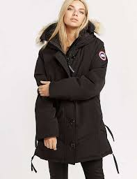 Canada Goose Dawson Parka Jacket Black For Women B20l1913