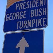 Image result for george bush turnpike