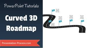 Road Map Powerpoint How To Create 3d Roadmap 3d Powerpoint Series