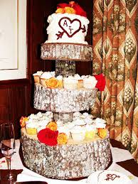 rustic marriage ceremony make a diy tree cupcake stand tutorial my blog