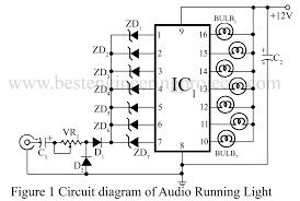 audio running lights circuit diagram wiring diagram show audio running lights circuit engineering projects audio running lights circuit diagram