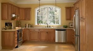 medium oak kitchen cabinets. These Are Medium Oak Cabinets With Laminate Countertops. Kitchen E
