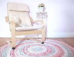 girls rugs for room kids decor shabby chic rag rug girl nursery