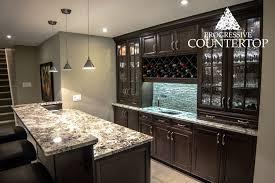 exotic alaska white granite counters eased edge counters progressive countertop