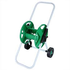 cart hose reel dtemple 164 foot capacity garden water hose reel cart hose pipe holder trolley