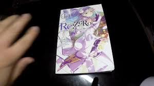 re zero light novel review vol 1