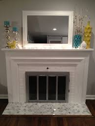 fireplace hearth tiles renovate it and look this fireplace