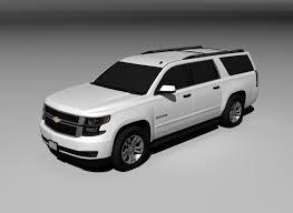 Chevrolet Suburban 2015 Free 3d Model In Suv 3dexport
