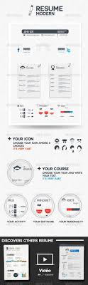 best ideas about cv modelos infographic buy modern resume by agenceme on graphicriver in the same style after effect project print template this modern resume template allows to mark down you