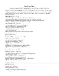 sample nanny resume sample nanny resume makemoney alex tk