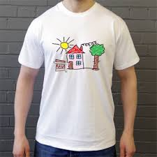 t shirt design at home