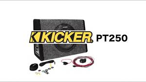 kicker pt250 review kicker pt250 review