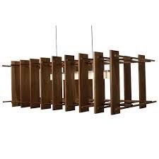 wood pendant lighting. Arca LED Linear Pendant Light Wood Lighting