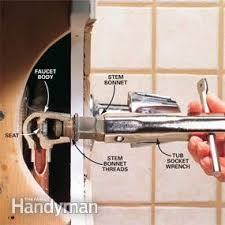 fix bathroom shower faucet leak. photo 4: remove the stem fix bathroom shower faucet leak