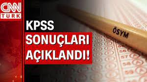 KPSS sonuçları açıklandı - YouTube