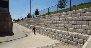 large block retaining walls