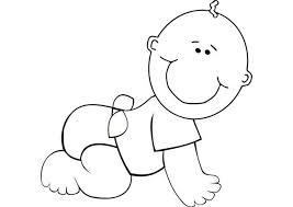 Small Picture Infant Coloring Pages Baby Coloring Page Twisty Noodle
