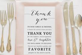 Wedding Thank You Notes Templates Wedding Thank You Card Template Thank You Printable