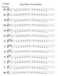 Baritone Scale Finger Chart Pin On Baritone Charts
