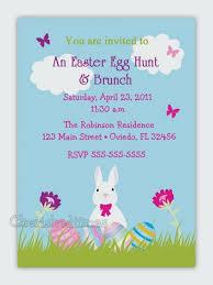Easter Birthday Invitations Easter Birthday Invitations