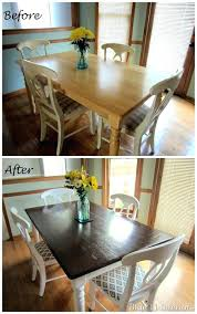 dark wood dining table dark wood dining room table dining table makeover before and after dark dark wood dining table