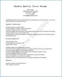 Charming Etl Testing Resume Doc Contemporary Entry Level Resume
