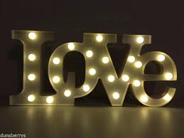 light up words for wall large light up battery led love word letters wall light sign light up words for wall wall decor