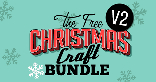 Almost files can be used for commercial. Free Christmas Craft Bundle V2 Bundle Creative Fabrica