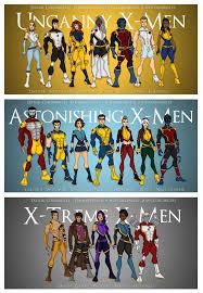 x men redesign teams by femmes fatales