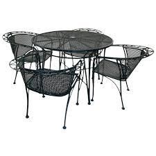 salterini outdoor furniture. Five Piece Salterini Patio Set | Dining Room Table, Patios And Wrought Iron Outdoor Furniture O