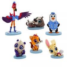 Bộ đồ chơi mô hình Phim hoạt hình Disney Junior T.O.T.S của Mỹ - Set 6 nhân  vật Fullbox - 299,000