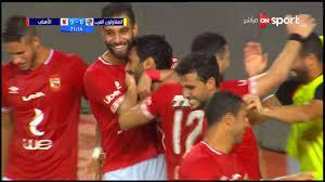 اهداف مباراة الاهلي والمقاولون (3-1) الدوري المصري - بطولات