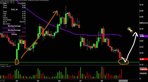 Vix Stock Chart Velocityshares Daily 2x Vix St Etn Tvix Stock Chart Technical Analysis For 11 08 19
