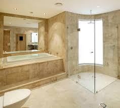 Luxury design travertine bathroom tiles ideas